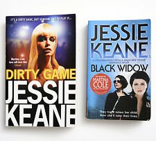 BLACK WIDOW & DIRTY GAMES 2009 BY JESSIE KEANE Very Good Condition