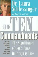 The Ten Commandments Dr. Laura Schlessinger book God's Laws in Everyday Life