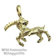 Zodiac, Astrological Birth Sign Charm Horoscope Pendant EP Gold Plated Guarantee