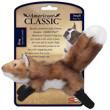 American Classic Fox Dog Toy Choose: Small or Large