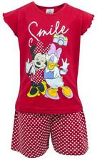Girls Disney Minnie Mouse & Daisy Duck Shorty Pyjamas 18 Months to 6 Years