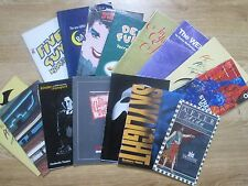 A Selection of Theatre Programmes form the 1990's,inc.Jane Horrocks Little Voice