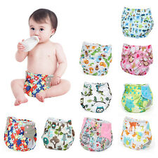 Inserts Wrap Adjustable Reusable Baby Washable Infant Nappy Soft Cloth Diapers