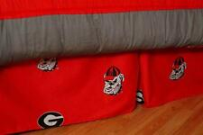 Georgia Bulldogs UGA Dust Ruffle Bed Skirt