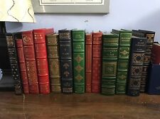 YOU PICK FIVE FROM LIST Franklin Library 100 Greatest Leather Book Limited