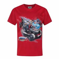 Skylanders Childrens/Boys Official Superchargers Drive T-Shirt