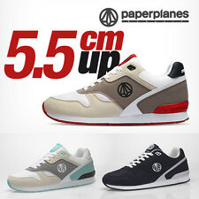 Paperplanes Mens Taller Up Athletic Shoes Fashion Sports Running Sneakers 1367