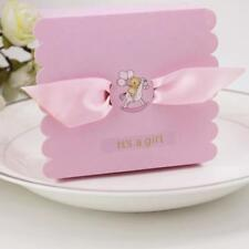 50xSweet Its A Girl Boy Candy Gift Paper Boxes Baby Shower Party Favor Decor