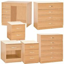 Bedroom Furniture Set Bedside Table Chest Of Drawers Unit Cabinet Dressing Desk
