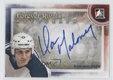 2012 In the Game Forever Rivals Series Autographs #A-DMAL Dan Maloney Auto Card