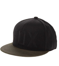 Mens Fox Column 210 Fitted Hat Black