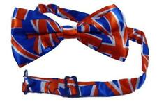 Jubilee Birthday Suit Dickie Bow Union Jack Bow Tie Fancy Dress UK Commonwealth