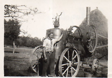 DI911 Photographie Photo Vintage Snapshot Tracteur Tractor NOROLLES
