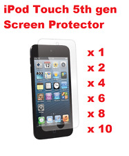 6X CLEAR SCREEN PROTECTOR COVER FOR APPLE IPOD TOUCH 5 5TH 6 6TH GEN FILM GUARD