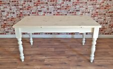 Painted Farmhouse Pine Dining Table / Extending Table - Range of Sizes