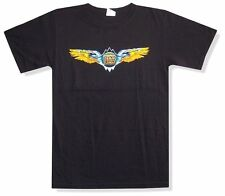 Doobie Brothers Wings 2010 Tour W. Palm Beach Black T Shirt New Official
