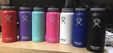 New Hydro Flask 18oz/40oz Insulated Stainless Steel Water Bottle Wide Mouth