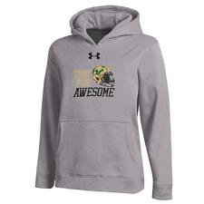 Youth Heather Gray South Florida USF Bulls Under Armour Hoodie