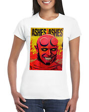 David Bowie Ashes To Ashes Funny Hellboy Inspired Womens T-Shirt