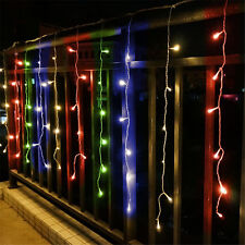 600 LED Fairy Curtains String light Christmas Wedding Party 6M*3M Multi-color