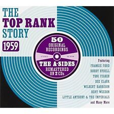 The Top Rank Story 1959 (A Sides) Various Artists Audio CD