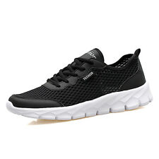Mens Plus Size Running Shoes Breathable Non Slip Light Casual Sports Shoes US