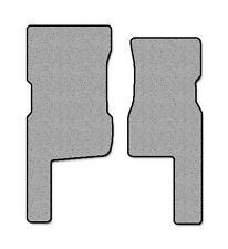 1998-2006 Hummer AM General H1 2 pc Front Factory Fit Floor Mats