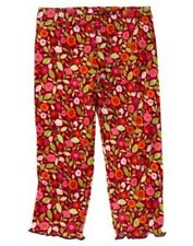 Nwt Gymboree Butterfly Girl Floral Leggings Size 3-6 Months