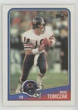 1988 Topps #70 Mike Tomczak Chicago Bears RC Rookie Football Card