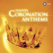 Handel Coronation Anthems George Frideric Handel Audio CD