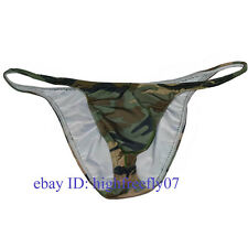 Alive Mens Bodybuilding Competition Posing Trunks Guys Penis Pouch Bikini Briefs
