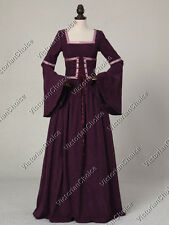 Medieval Renaissance Faire Maiden Game Of Thrones Gown Theatrical Clothing R401