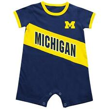 University of Michigan Wolverines Baby Bodysuit Slant Pass Romper Outfit