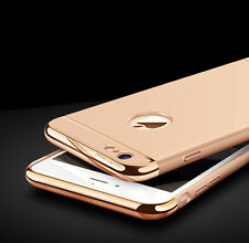 Luxury Ultra-thin Slim 3IN1 Plating PC Hard Back Cover Case For Apple iPhone  M