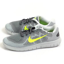 Nike Free RN 2017 (GS) Lightweight Running Cool Grey/Volt-Wolf Grey 904255-004