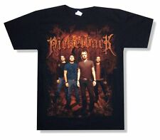 Nickelback Rustic Church Image Tour 2010 TN-NV Leg Black T Shirt New Official