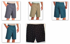 Faded Glory Men's Flat Front Twill Shorts Above Knee