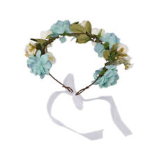 Boho Flower Headband Floral Crown Garland Hair Band Hair Wreath Accessories