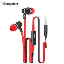 Langsdom JM21 Stereo Bass Earphone Earpieces Headset with MIC 3.5MM Hands-free