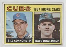 1967 Topps #272 Bill Connors Dave Dowling Chicago Cubs RC Rookie Baseball Card