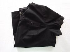 Koi Comfort 3x Black Scrub Top