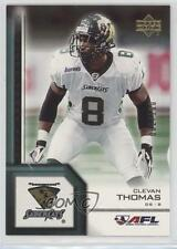 2006 Upper Deck Arena Football Gold #174 Clevan Thomas San Jose SaberCats (AFL)