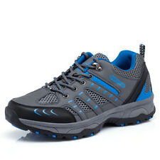 Mens Fall Fashion Outdoor Walking Shoes Athletic Wearable Antiskid Trail Shoes