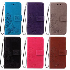 For ASUS ZenFone Lucky Four-leaf Clover Leather Flip Magnetic Wallet Case Cover