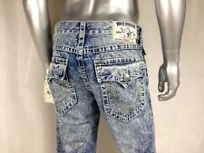 NEW $271 Auth TRUE RELIGION STRAIGHT W/Flaps NATURAL BIG T Men`s Jeans Sz 28-44