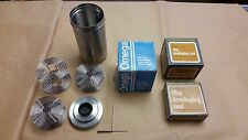 Omega and Honeywell Nikor Stainless 120 / 620 Film Developing Reels and Tank