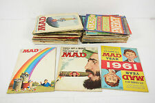 Vintage 51 Pieces Mixed 1960s 1970s MAD Magazines Lot