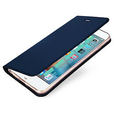 For Apple iPhone 5 5S SE Luxury Slim Leather Flip Magnetic Phone Case Cover Skin