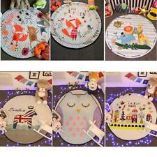 Baby Cotton Round Tummy Time Play Mat Kids Toy Playmat Blanket Game Nap Mat