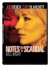 Notes on a Scandal (DVD, 2009, Widescreen) LN CL5